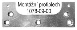 1078-09-00 montážní protiplech pro W1078-00-00 a Estetic 80/A